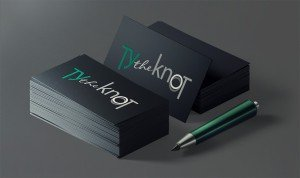 Ty the knot cards mockup