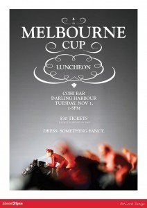 Melbourne Cup Poster Design - Sunshine Coast