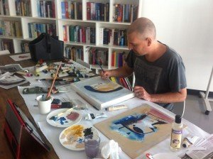 Abstract Painter in Sydney - Now found painting on the Sunshine Coast