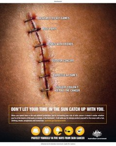 Cancer Campaign Artwork (Finished Art) from my time at BMF Advertising - Stuart Flynn - Sunshine Coast