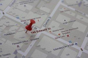 relocation photo shoot - Photoshop using google maps Sunshine Coast