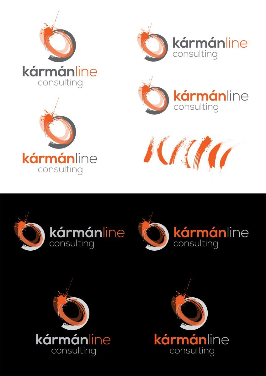 Logo design and finessing - Karman line